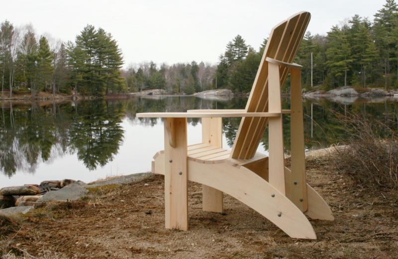 grandpa adirondack chair plans full size patterns ebay